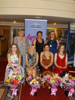 Winners of NI Veterinary Nurse of the Year 2012